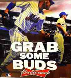 grab some buds mets advert