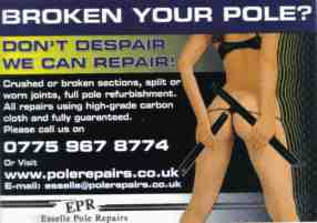 esselle pole repairs advert