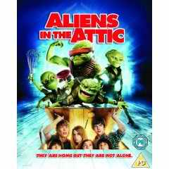 Aliens Attic DVD Carter Jenkins