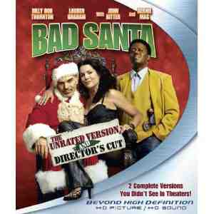 Bad Santa Blu ray US Import