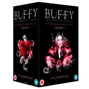 Buffy Vampire Slayer Complete Packaging