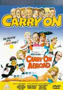 Carry Abroad DVD Kenneth Williams