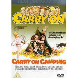 Carry Camping DVD Kenneth Williams
