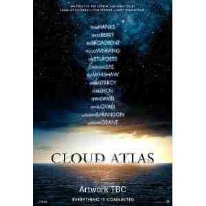 Cloud Atlas DVD Tom Hanks