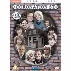 Coronation Street 1980s Disc Box