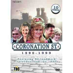 Coronation Street Best 1990 1999 DVD