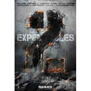 EXPENDABLES Movie Poster Promo Flyer