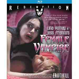 Female Vampire Erotikill Remastered Blu ray