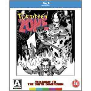 Forbidden Arrow Limited Edition Blu ray