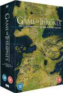 Game Thrones Season 1 3 DVD
