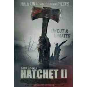 Hatchet Poster Movie 11 Inches