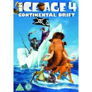 Ice Age Continental Drift DVD