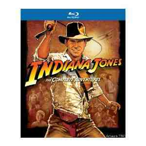 Indiana Complete Adventures Blu ray Region