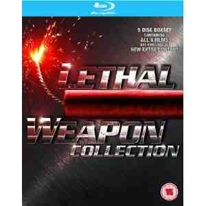Lethal Weapon 1 4 Blu ray Gibson
