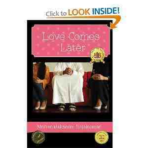 Love Comes Later Mohanalakshmi Rajakumar