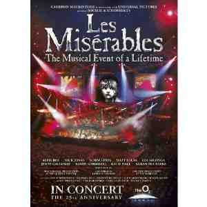Miserables 25th Anniversary DVD