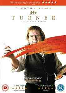 Mr Turner DVD Timothy Spall