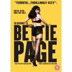 Notorious Bettie Page DVD