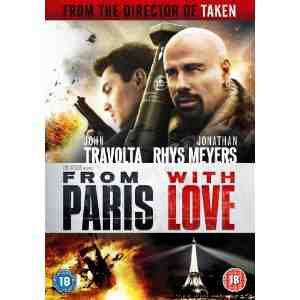 Paris Love DVD John Travolta