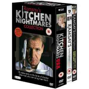 Ramsays Kitchen Nightmares DVD