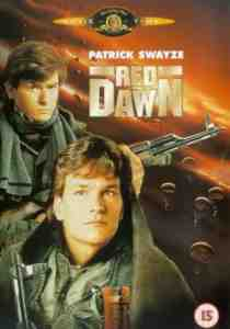 Red Dawn DVD Patrick Swayze