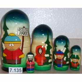 South Park Russian Dolls