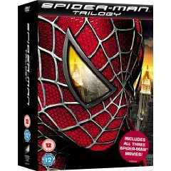 Spiderman trilogy DVD