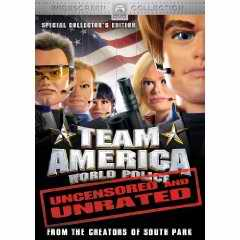 Team America unrated DVD