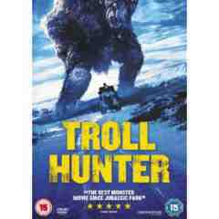 Troll Hunter DVD Knut Naerum