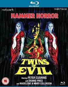 Twins Evil Blu ray Peter Cushing