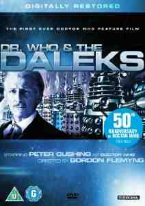 Who Daleks DVD Peter Cushing