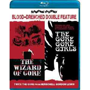 Wizard Gore The Girls Blu ray
