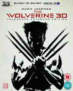 Wolverine Blu ray 3D UV Copy