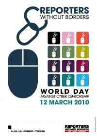 world day against censorship logo