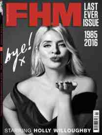 fhm last issue