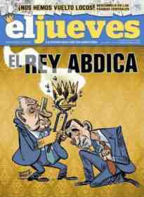 jueves on abdication
