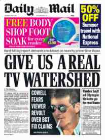 daily mail watershed