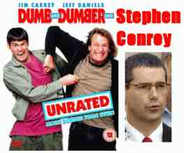 dumb and dumber and stephen conroy