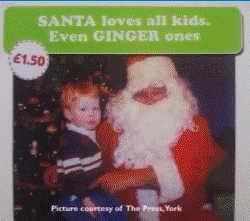 Even Ginger Kids card