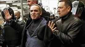 Garry Kasparov detained