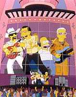 Simpsons meet U2