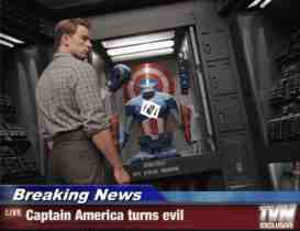 captain america turns evil