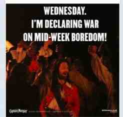captain morgan midweek boredom advert