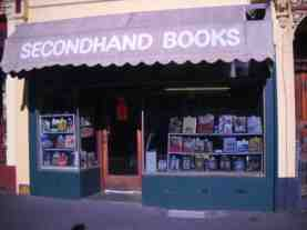 secondhand book shop