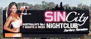 sin city billboard