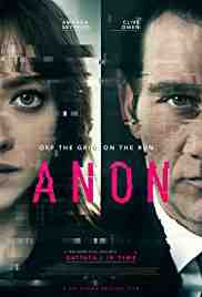 Poster Anon 2018 Andrew Niccol