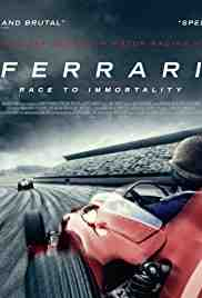 Poster Ferrari Race To Immortality 2017 Daryl Goodrich