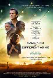 Poster Same Kind of Different As Me 2017 Michael Carney