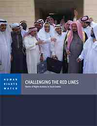 saudi challenging the red lines