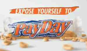 payday candy bar advert video